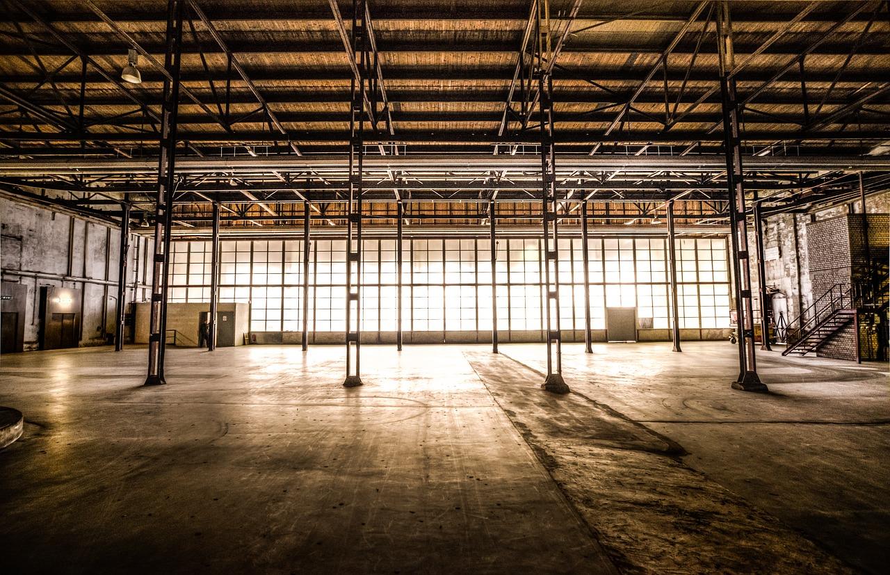 Budynki przemysłowe wciąż się przydają